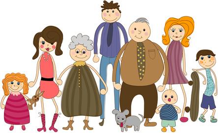 Big Family Portrait